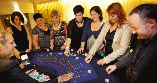 Casino verhuur Casino blackjacktafel huren
