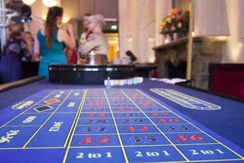 Roulette speelveld layout