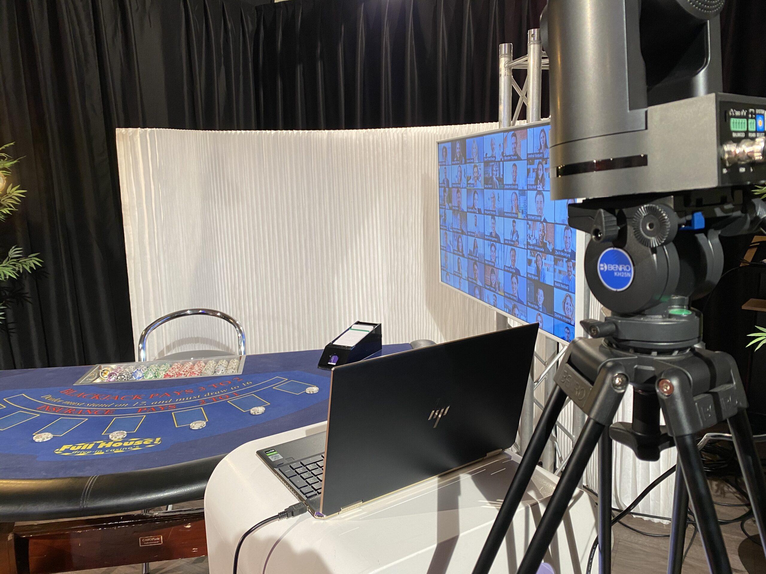 Online casino via camera