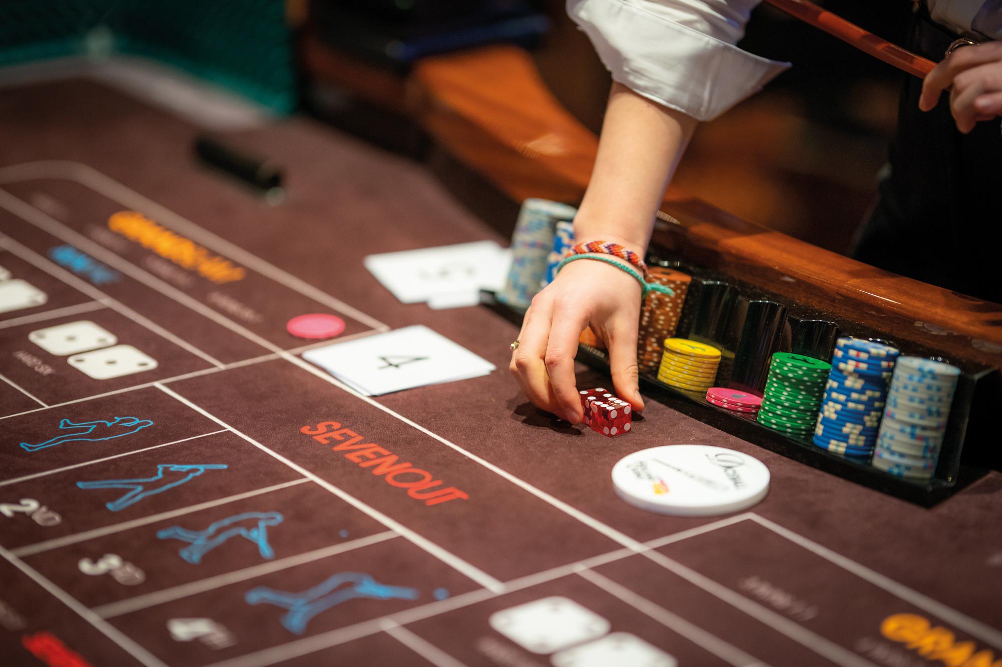 Craps spelen in het Holland Casino Online