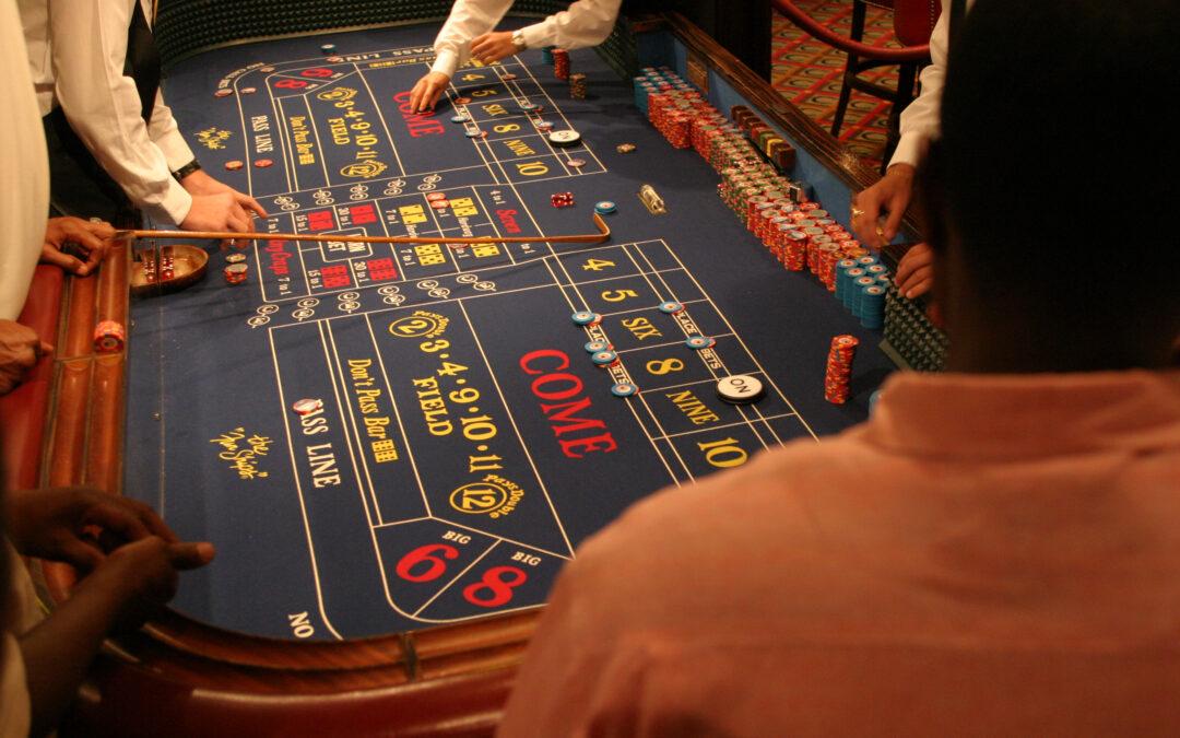 Kun je craps spelen in het Holland Casino online?
