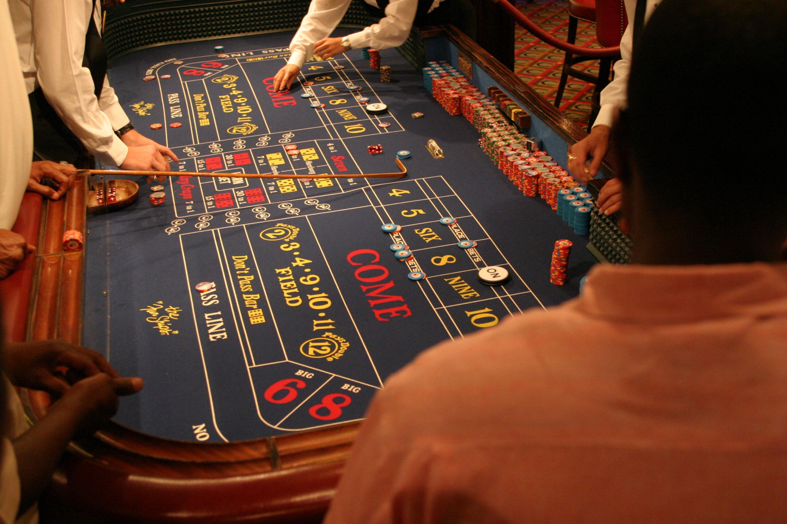 Kun je Craps of Diceball spelen in het Holland Casino online