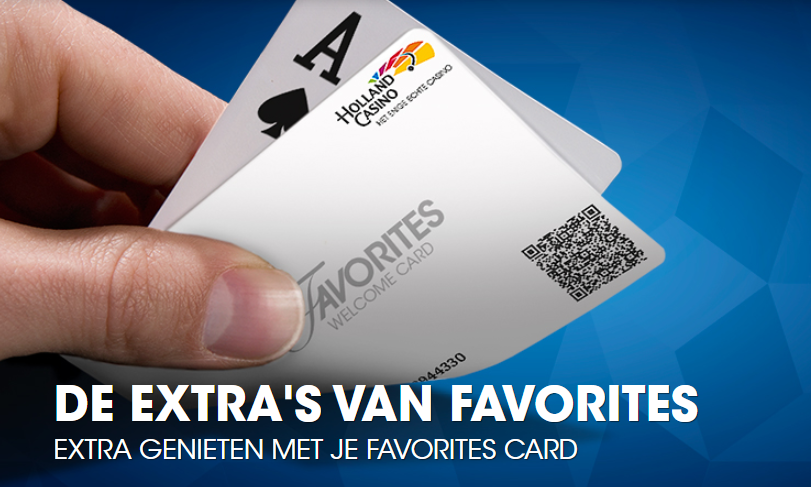 Xpercience Card Holland Casino Favorites