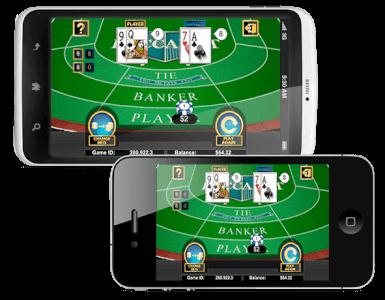 Online Baccarat spelen