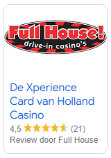review Xperience card Holland Casino