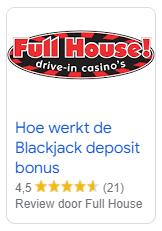 review blackjack deposit bonus