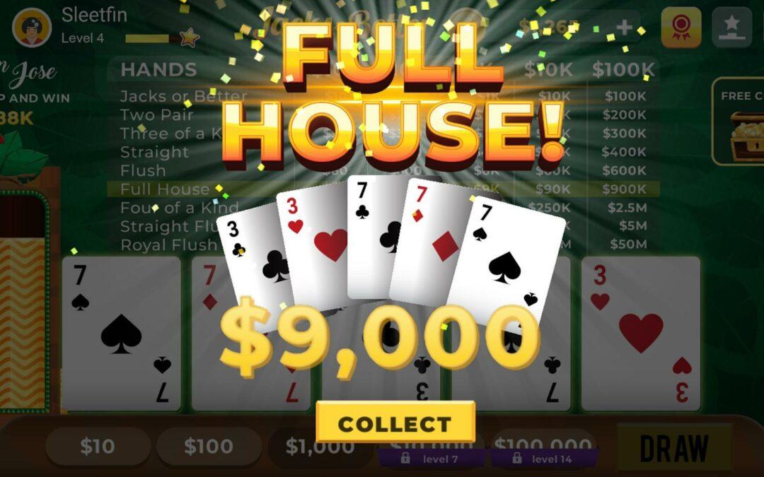 Kun je video poker spelen op een android toestel