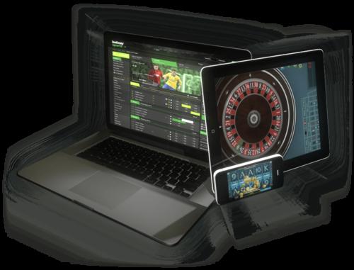 Online gokken op iPad