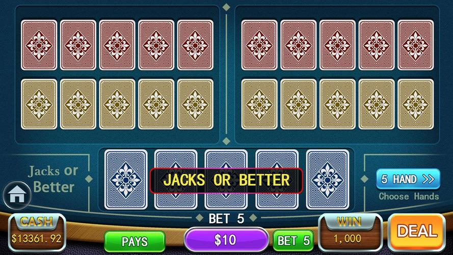 Video poker calculator