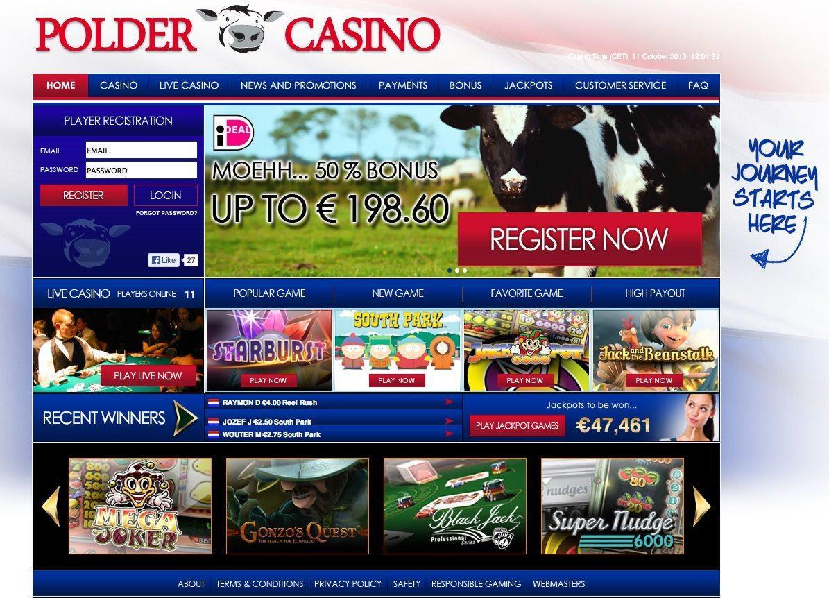 Polder Casino pagina