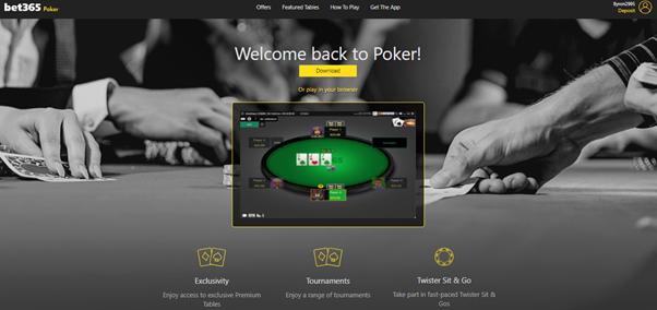poker bij Bet365